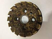 Головка зуборезная цельная для конических и гипоидных колес с круговыми зубьями 80мм №10 1,6