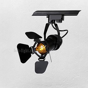Прожектор на треке в стиле лофт (модель 61-GD01-1 BK трек )