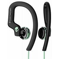 Навушники вакуумні провідні з мікрофоном SkullCandy Cho MintBlack (S4CHY-K602) SkullCandy Chops Flex Black Green