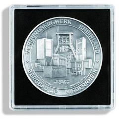 Капсула Leuchtturm квадратная QUADRUM для монет внутренний диаметр 57мм.