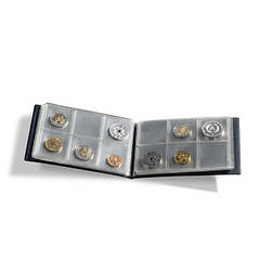 Альбом Leuchtturm для монет до 33 мм на 48 монет