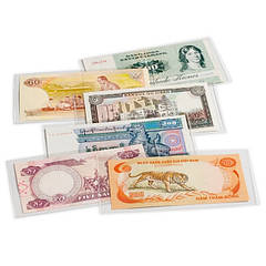 Обложка для банкнот 204 х 123 мм (запаяна с 3х сторон)