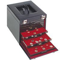 MBKO10 Кейс для монет (в боксах), искусственная кожа