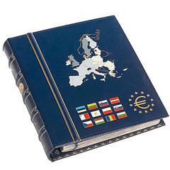 Альбом Leuchtturm, VISTA  для наборов eвромонет (новые страны) с футляром