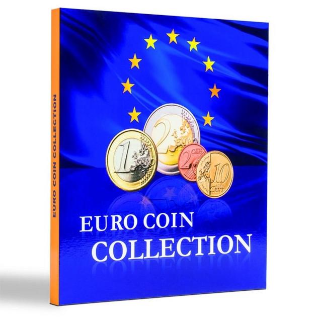 Альбом Leuchtturm, PRESSO для монет евро Euro Coin Collection