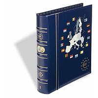 CLASEUROBL1SET Альбом VISTA  для наборов eвромонет (12 стран) с футляром, фото 1