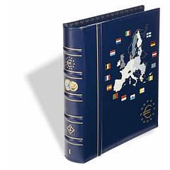 Альбом Leuchtturm, VISTA  для наборов eвромонет (12 стран) с футляром