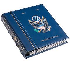 Альбом Leuchtturm для президентських доларів США, з футляром