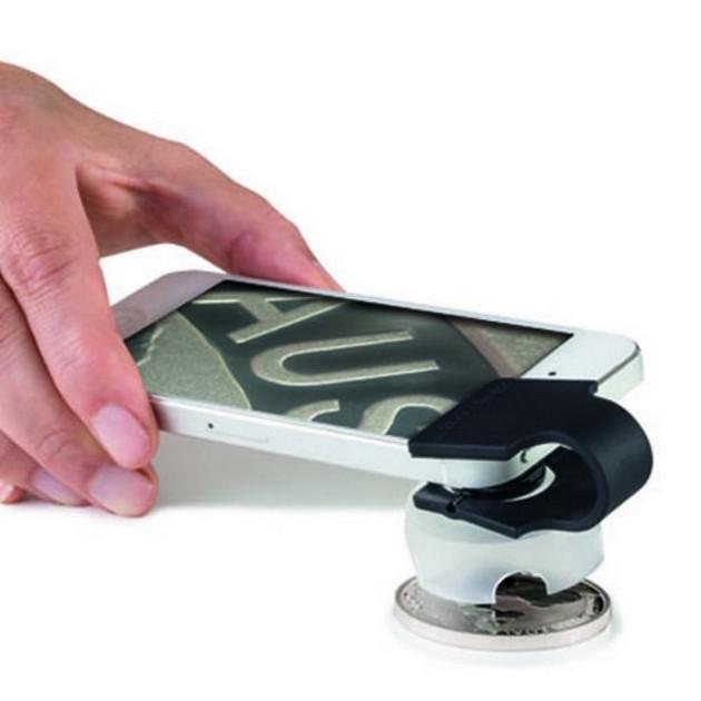 Макролинза для смартфона с увеличением 60 крат