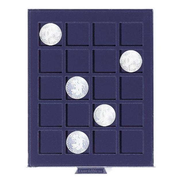 Бокс для монет Leuchtturm, Smart (размер ячейки 36*36 мм)