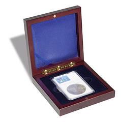 Футляр Leuchtturm для сертифицированной монетной капсулы  (слаба)