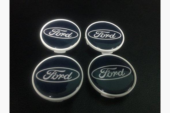Колпачки под оригинальные диски 50мм V1 (4 шт) - Ford B-Max 2012+ гг.