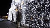 Гирлянда штора 3x6 м 600 LED холодный белый, фото 3