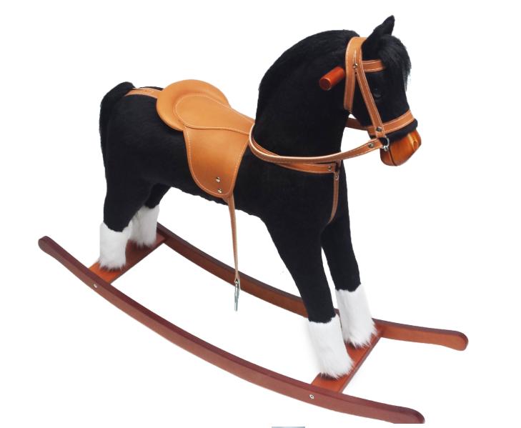 Лошадка качалка, детская качель МИНОС