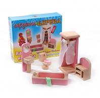 """Набір меблів для ляльок """"Ванна кімната"""" 6957348002743"""