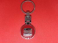 Брелок металлический для авто ключей Seat (Сиат)
