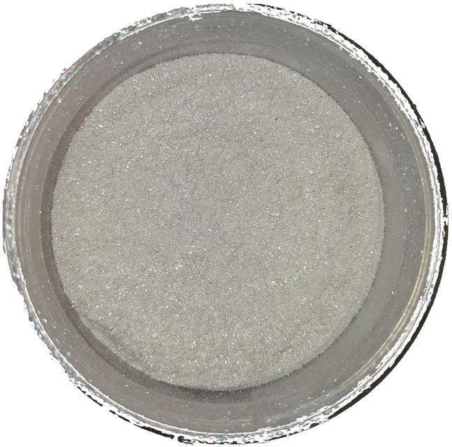 Белое серебро слюда KW183