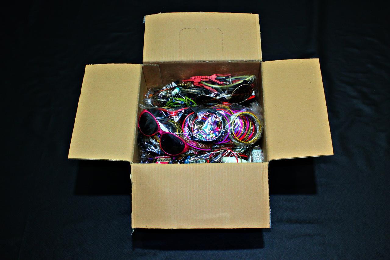Секонд хенд Бижутерия кольца браслеты сережки кулоны цепочки Англия Оптом от 3 кг