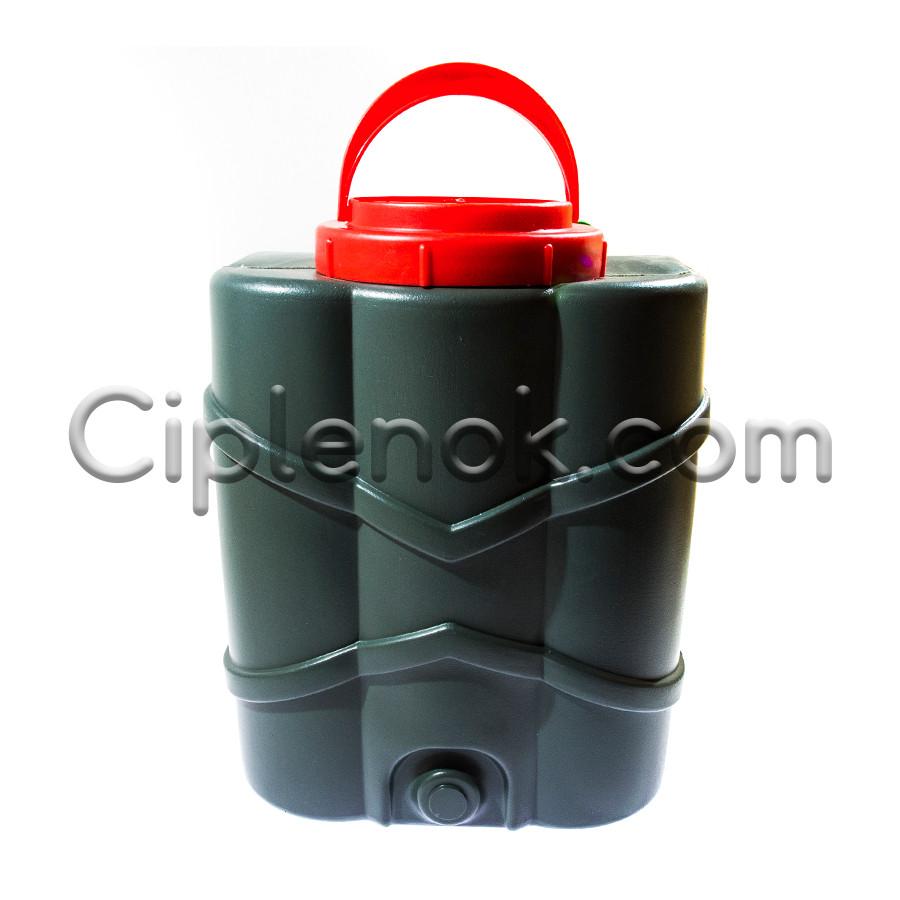 Бак пластиковый подвесной (рукомойник) 10л.