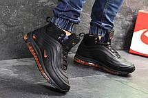 Высокие зимние кроссовки Nike air max 97,зимние,черные 41,44,45р, фото 2