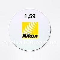 Поликарбонатная японская линза Nikon Moving HCC. Ударопрочная утонченная 1,59