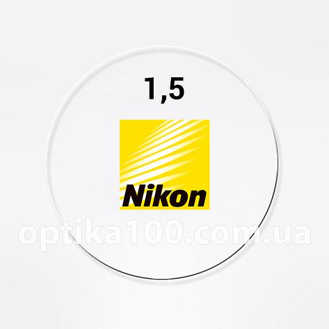 Линза для очков Nikon Classic 1.5 (Япония). Под покраску для солнцезащитных очков, фото 2
