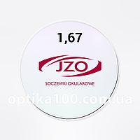 Утонченная линза для очков JZO Praktis 1,67 AR