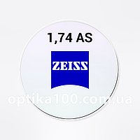 Асферическая утонченная линза Zeiss SV AS 1,74 DV Platinum