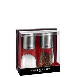 Комплект с подарками мельниц для соли и перца Cole & Mason Клифтон Инвертор