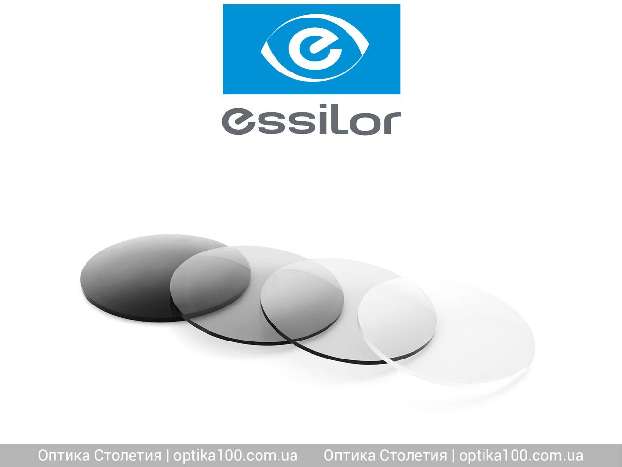 Фотохромная линза Essilor Orma Acclimates Trio. Затемнение до 81-84%