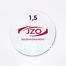 Польская линза для очков JZO Praktis 1,50 SHMC