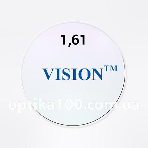 Утонченная линза VISION (Корея) 1,61 HMC+EMI+UV400, фото 2