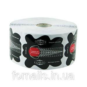 Komilfo Multi Shape Nail Forms 500 pcs - мультифункциональные формы для наращивания