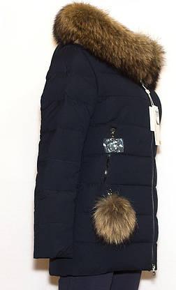 Молодежная зимняя женская куртка FINEBABYCAT 529 L, фото 2