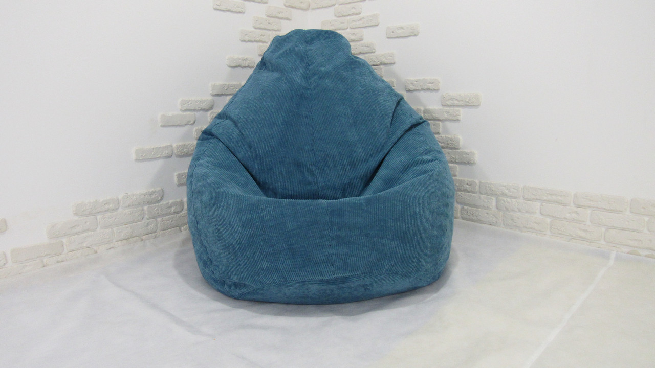 Кресло мешок PufOn, Capri Синий, XL
