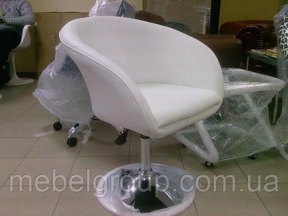 Кресло барное Мурат НЬЮ белое, фото 2
