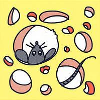 Декор Кошки-Мышки. Сыр и Мышка 20х20х6,9