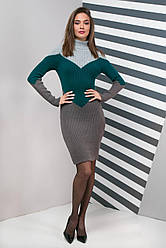 Повседнеаное вязаное платье Эльза