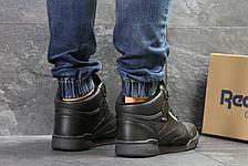 Высокие зимние кроссовки Reebok,черные,на меху, фото 3
