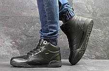 Высокие зимние кроссовки Reebok,черные,на меху, фото 2