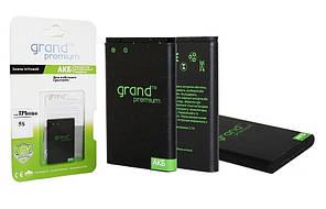 """Аккумуляторная батарея (АКБ)для iPhone 5s. """"Grand Premium"""""""