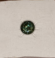 Муассанит зелено-голубой