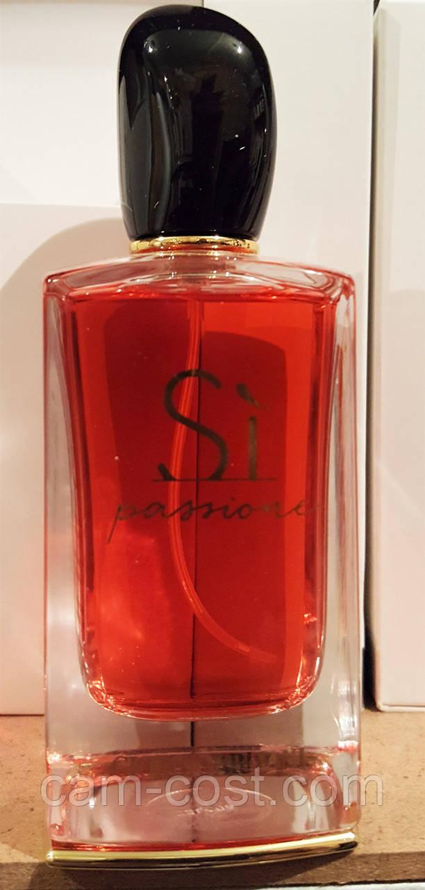 парфюмированная вода в тестере Giorgio Armani Si Passione 100 мл