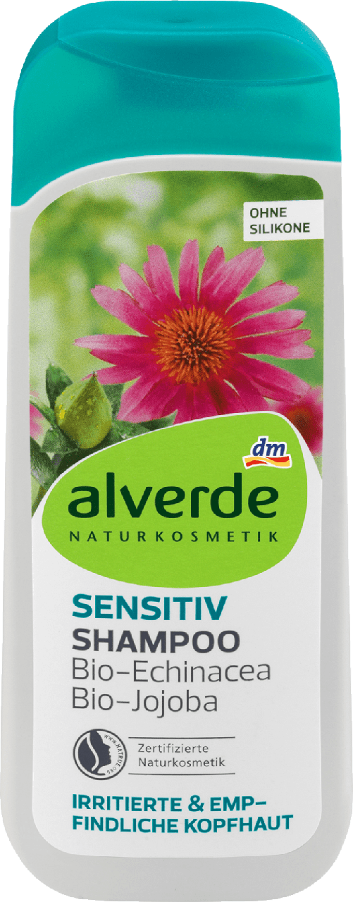 Шампунь alverde NATURKOSMETIK Sensitiv Bio-Echinacea, 200 ml