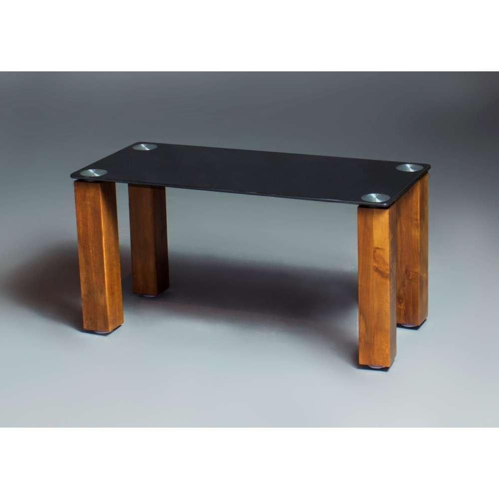 Журнальний кофейний столик зі скла у вітальню Гладіатор БЦ-стол