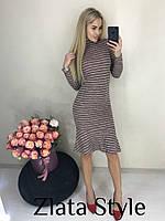 Сукня Amber, ангора в полоску, фото 1