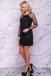 Оригинальное нарядное  платье футляр 42-48р, фото 2