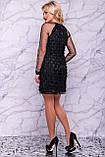 Оригинальное нарядное  платье футляр 42-48р, фото 4