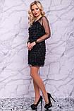 Оригинальное нарядное  платье футляр 42-48р, фото 5