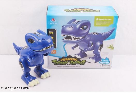 Музыкальная игрушка.Динозавр со светом и звуком.Динозавр на батарейках.